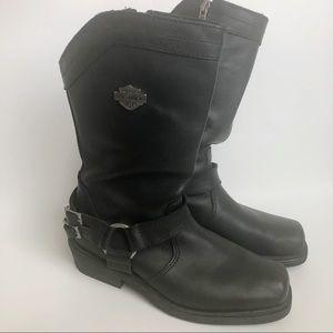 Harley-Davidson Women's Cybill Black Leather 8.5